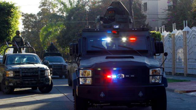 Patrullaje en Jalisco para capturar a Nemesio Oseguera, El Menchito, líder del CJNG. Foto: AFP/Getty