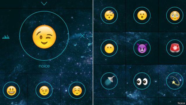 Emoticones de Noice