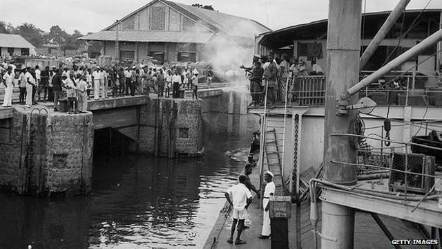 Kinshasa en la década de los 20.