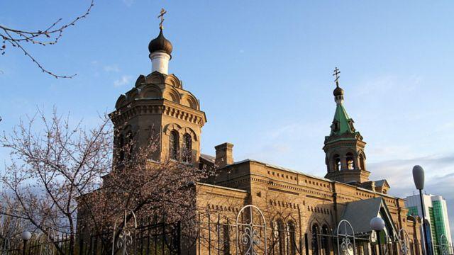 An gina majami'ar St Alexiy  ne a shekarar 1912  domin sojin kasar Rasha da ke  yin atisaye a Cossack