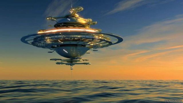 Ilustração de espaçonave. Foto: Thinkstock