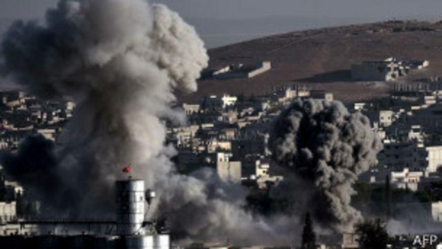Kobane, uno de los bastiones contra el avance del Estado Islámico.