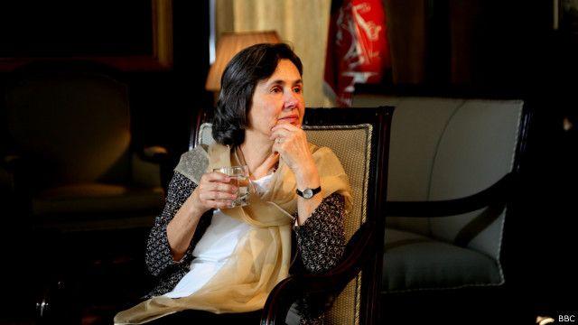 خانم رولا می گوید انتظار دارد زنان افغان احترام شوند