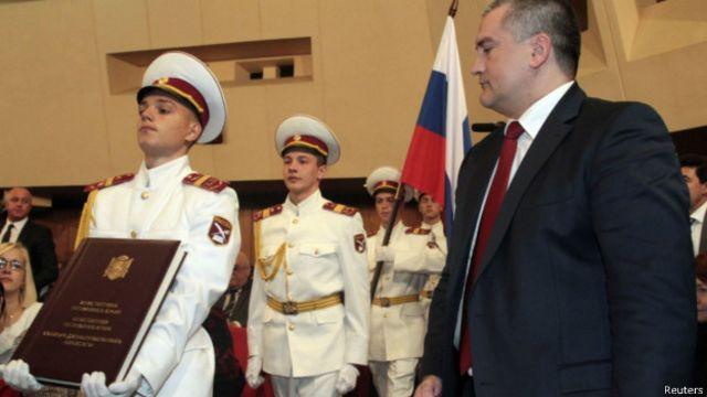 Инаугурация Сергея Аксенова в качестве главы Крыма