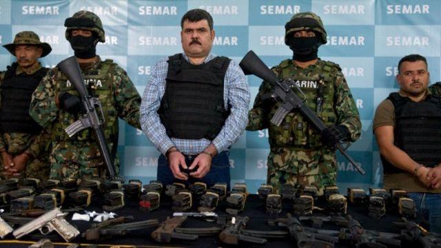 Eduardo Costilla Sánchez, detenido por la Marina en 2012. Foto: AFP/Getty