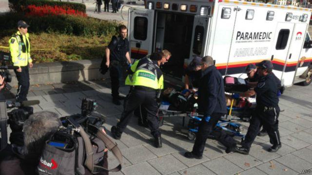 槍擊事件造成一名士兵受傷