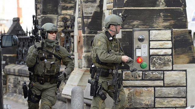 加拿大軍警仍在搜索槍擊事件嫌疑人