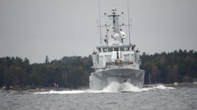 Корабль шведских ВМС
