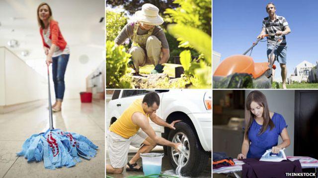 La lista de actividades que requieren un tipo de esfuerzo físico es interminable.