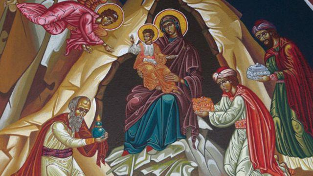 """داستان """"سه مجوس شرقی"""" از دستمایههای ثابت و اصلی هنر مسیحی"""