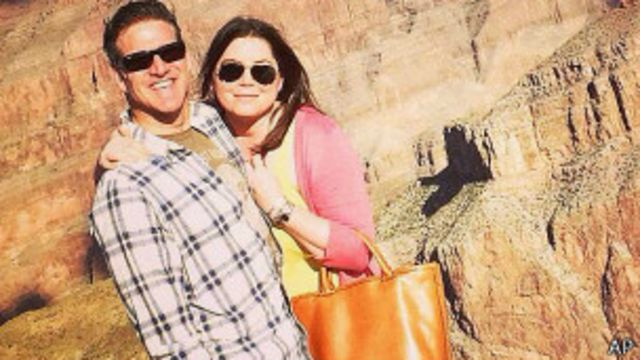 Brittany Maynard y su marido Dan Díaz