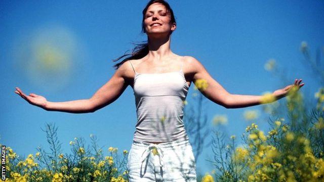 El ejercicio al aire libre ayuda a estimular los sentidos.