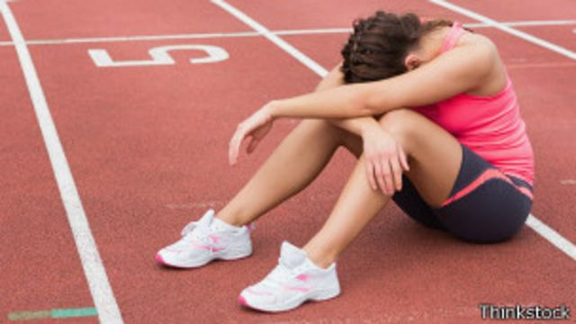 A pesar de la recomendación de hacer ejercicios, hay deportistas que sufren de depresión.