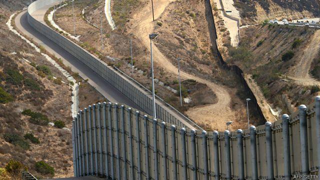 Frontera entre EE.UU. y México
