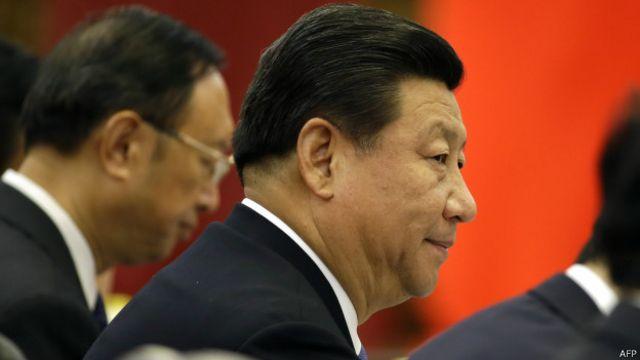 جينبينغ يرغب في توسعة الاسواق امام سلع بلاده