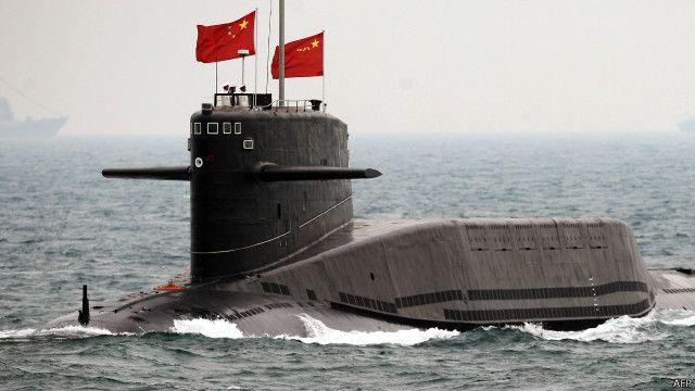 Trung Quốc hiện có ba hạm đội và một đội tàu ngầm lớn