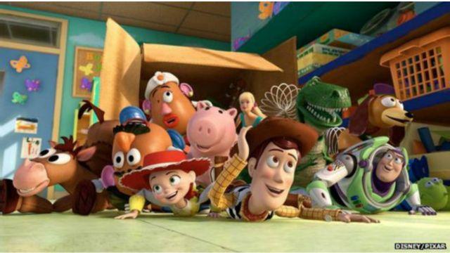 مشهد من فيلم قصة لعبة