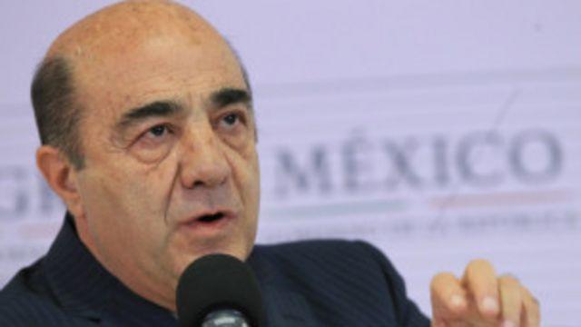 Procurador de México Jesús Murillo Karam. Foto: EPA