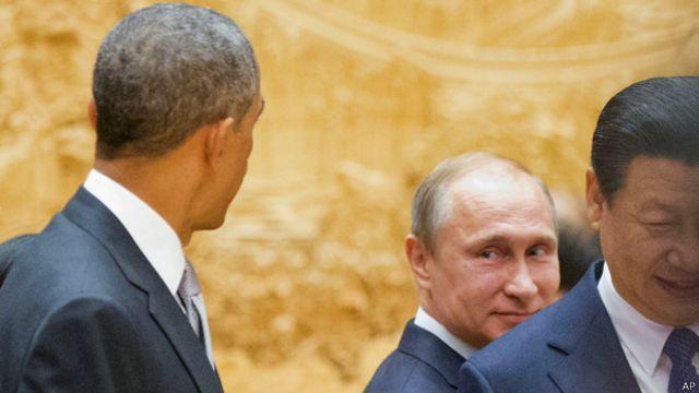 Các ông Barack Obama, Tập Cận Bình và Vladimir Putin gây ảnh hưởng lớn trong năm 2014