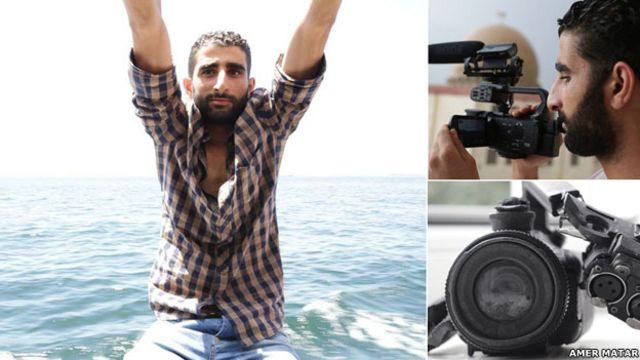 محمد نور هنگامی که مشغول کار به عنوان عکاس بود، برده شد