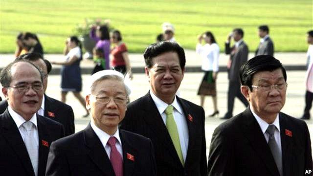Ai trong số bốn nhà lãnh đạo này sẽ tiếp bước sau Đại hội Đảng 12 vẫn còn là một ẩn số