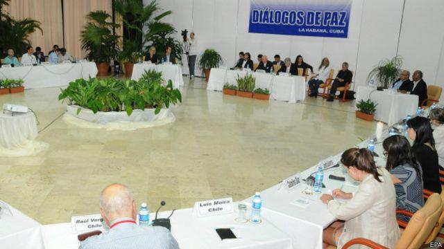 Negociaciones de paz entre el gobierno de Colombia y las FARC en La Habana