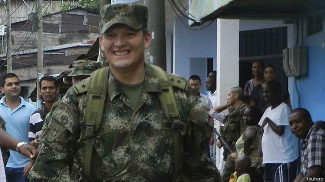 General Rubén Darío Alzate (foto de archivo)