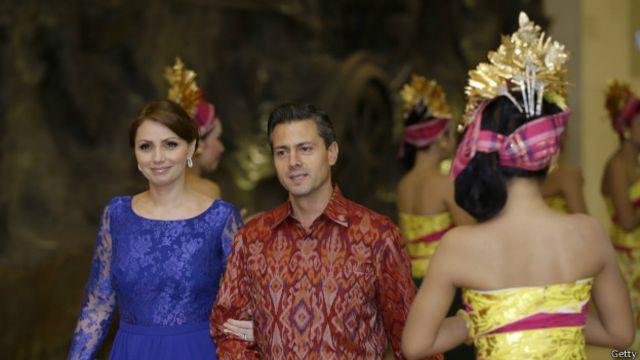 enrique peña nieto y angélica rivera, pareja presidencial mexico