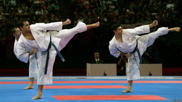 En las artes marciales es igual de importante el trabajo físico como mental.