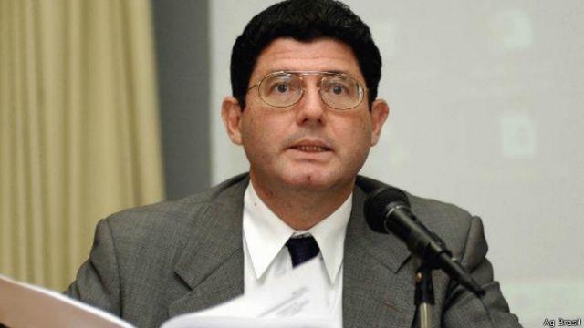 Joaquim Levy em foto de 2004, quando era secretário do Tesouro (Ag Brasil)