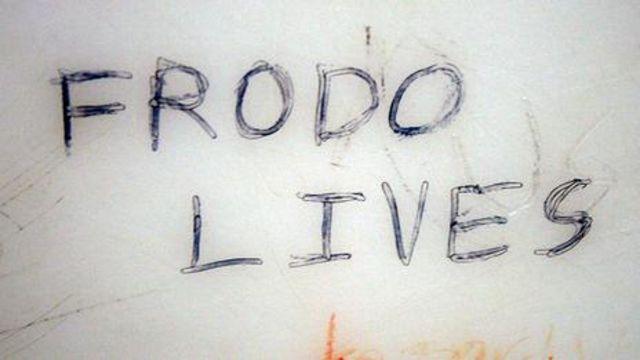 'Frodo vive' foi um slogan da contracultura dos anos 1960
