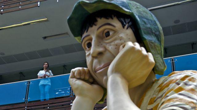 Estatua de El Chavo del 8