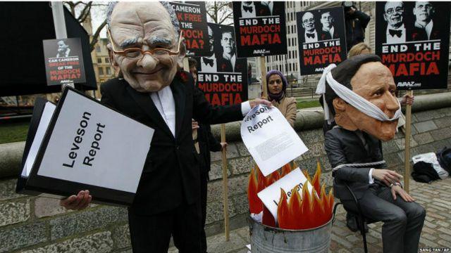 Investiações no Reino Unido levaram a protestos contra grupo do empresário Rupert Murdoch