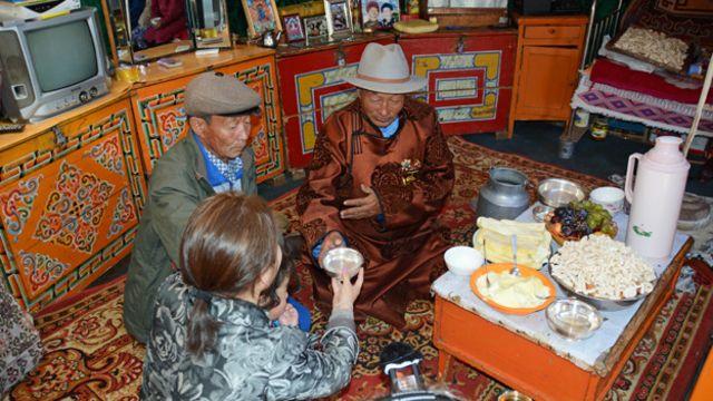 Los mongoles son muy hospitalarios.