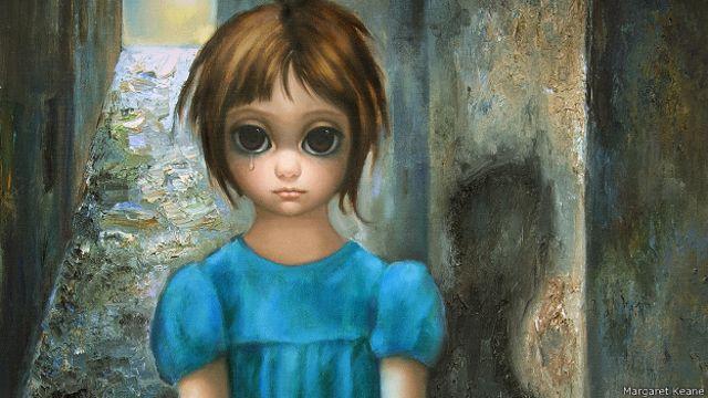 La Increíble Historia De La Pintora De Los Ojos Gigantes Bbc News Mundo
