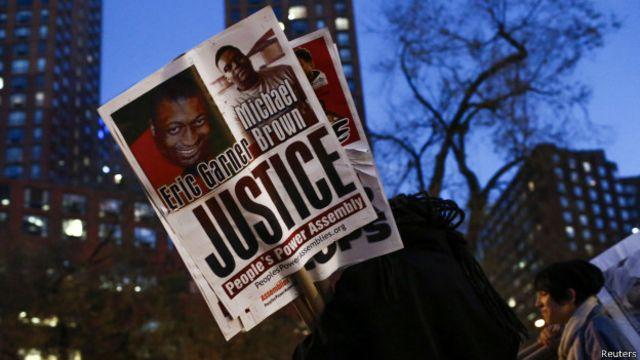 Protesta por Eric Garner