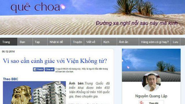Blog Quê Choa hiện không còn truy cập được theo cách thông thường