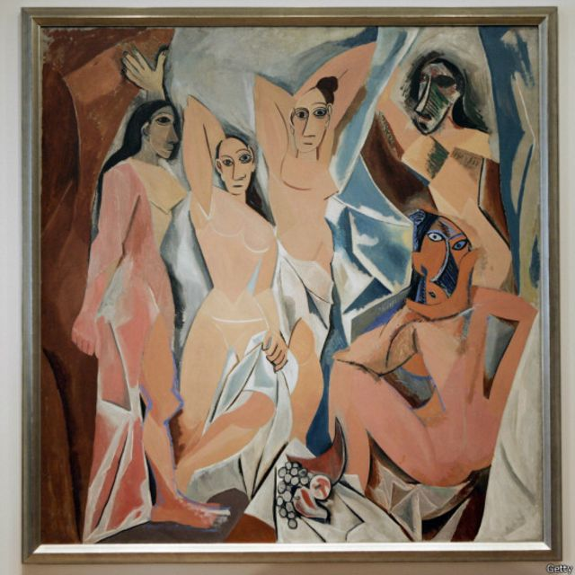 """Пабло Пикассо. """"Авиньонские девушки"""""""