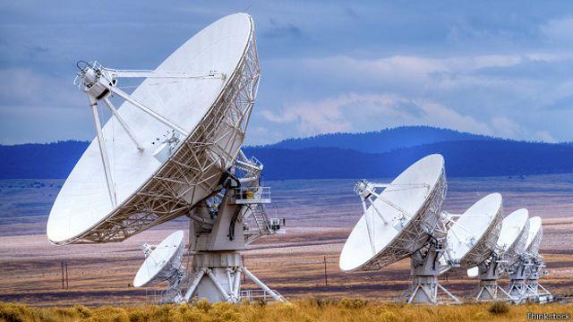Земные радары, устремленные в космос