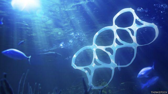 Cerca de 8 millones de toneladas de plástico van a parar al mar cada año.