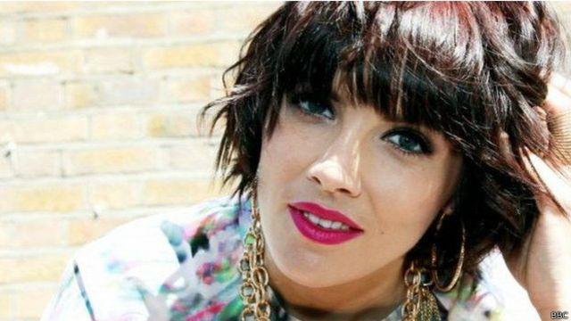 apresentadora Claira Hermet (BBC)