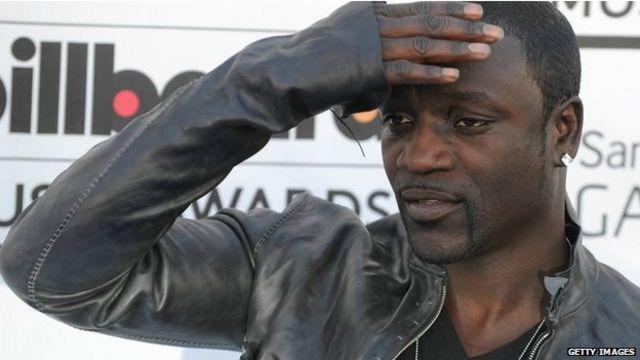 El rapero Akon perdió al 56% de sus seguidores.