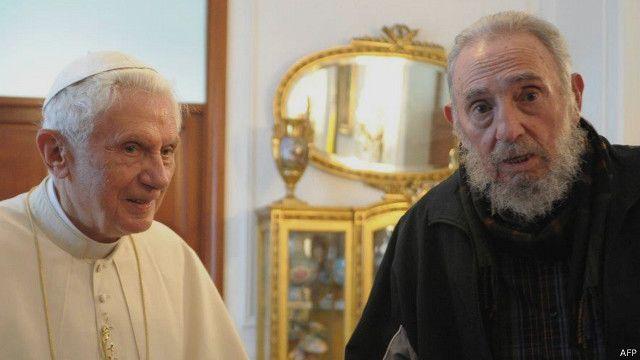 Các vị Giáo hoàng đều liên tục khuyến khích Cuba mở cửa
