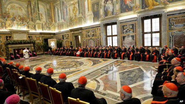 Bài diễn văn của Giáo hoàng Francis dường như không nhận được sự ủng hộ