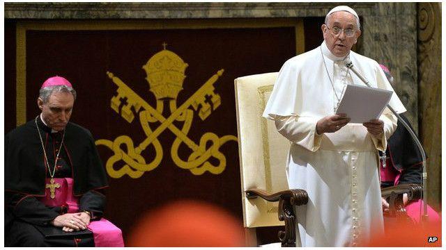 Giáo hoàng Francis bất mãn với tình trạng quan liêu ở Vatican