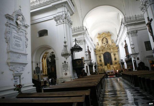 Iglesia de la Santa Cruz, Varsovia