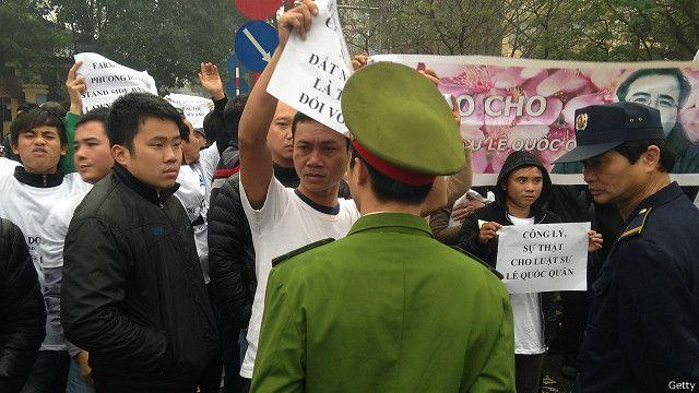 Hồi đầu năm 2014, phiên tòa phúc thẩm đã kết tội luật sư Lê Quốc Quân 'trốn thuế'