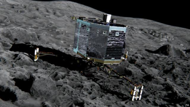 کاوشگر فیله بر روی دنبالهدار ۶۷پی/چوریوموف-گراسیمنکو