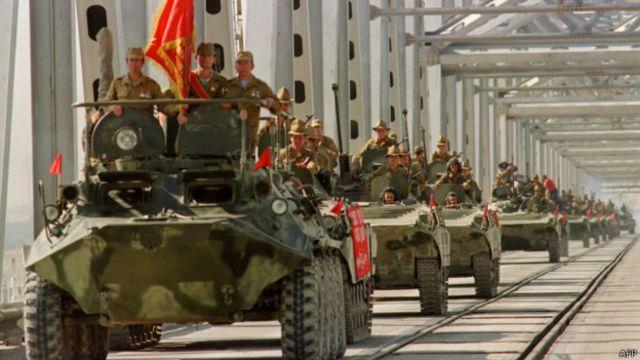 Окончание вывода советских войск из Афганистана (21 мая 1989 г.)