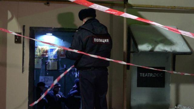 """Полицейский в """"Театре.doc"""""""